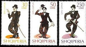sellos_de_caricaturas_de_charles_chaplin_de_albania