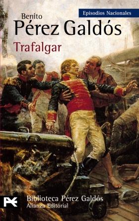 Portada de Trafalgar de Galdós